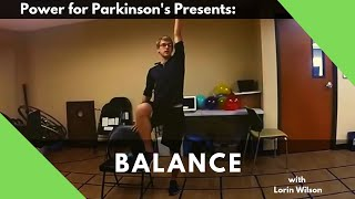 10 minute Balance for Parkinson's Workout