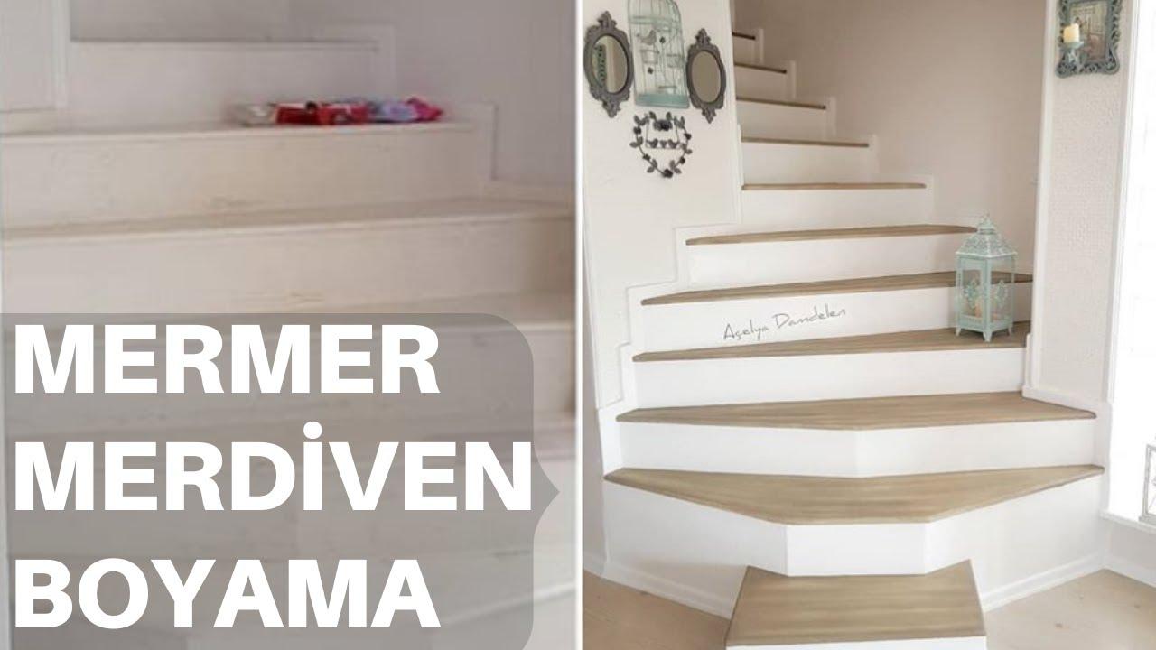 Mermer Merdiven Boyama Taş Duvar Yapılışı Youtube