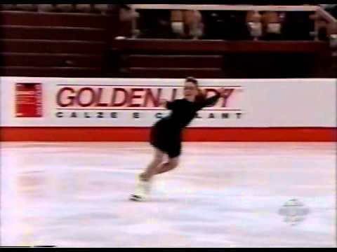 Lucinda Ruh (SUI) - 1995 World Juniors, Ladies