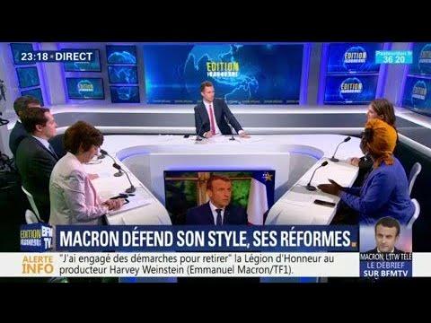 """Pour Danièle Obono, """"Macron c'est Sarkozy x Hollande au carré"""""""