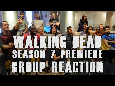 The Walking Dead - 7x1 Season 7 Premiere! - Group Reaction