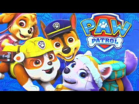 Paw Patrol 2 puzzles of the mirror picture Puzzle Games for Kids