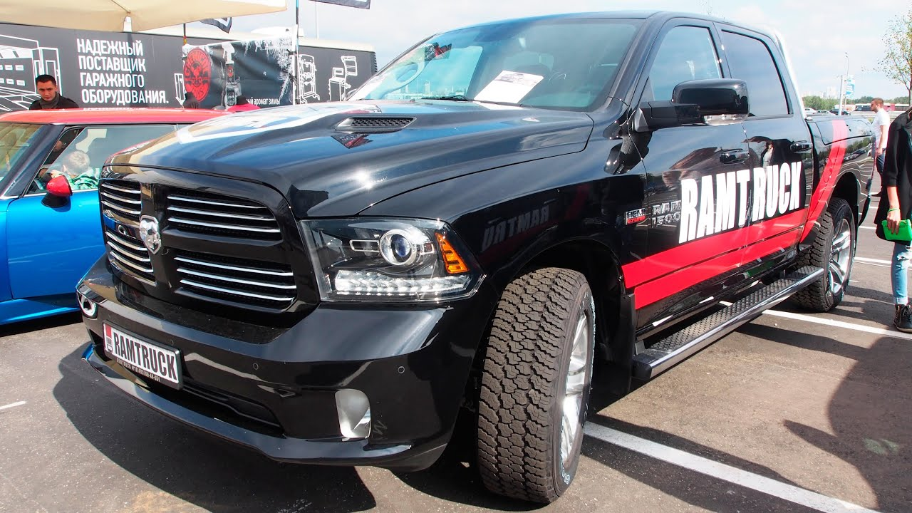 2014 dodge ram 1500 5 7 hemi v8 exterior and interior walkaround youtube. Black Bedroom Furniture Sets. Home Design Ideas
