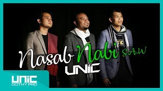 UNIC - NASAB NABI S.A.W (OFFICIAL LYRIC VIDEO) ᴴᴰ