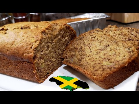 HOW TO MAKE THE BEST AUTHENTIC JAMAICAN BANANA BREAD RECIPE | PERFECTLY MOIST