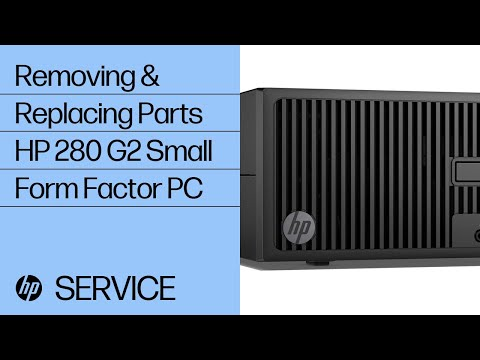 HP 280 G2 Small Form Factor PC Teardown | HP Computers | HP