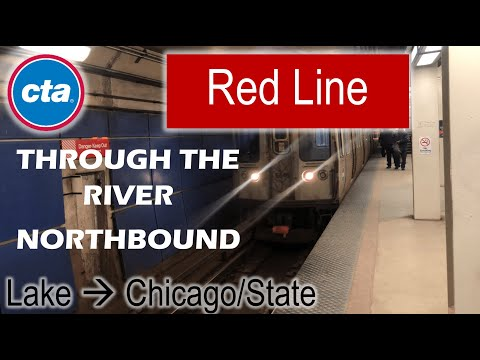 Let's Ride the Rail - CTA Red Line from Lake to Chicago/State