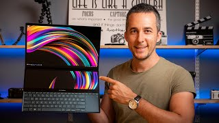 INCREDIBLE Asus Zenbook Pro Duo - Review from a Digital Artist