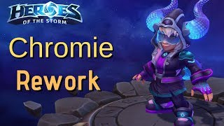 New Chromie Rework. (Time trapping your team and triple sandblasting towers...)