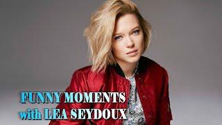 FUNNY MOMENTS with LEA SEYDOUX | СМЕШНЫЕ МОМЕНТЫ с ЛЕА СЕЙДУ #leaseydoux #леасейду