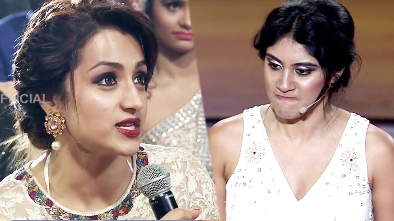 Download Trisha Krishnan Reveals The Weirdest Rumour About Her On Media At SIIMA