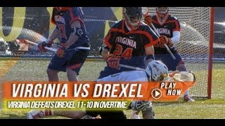 Virginia vs Drexel | 2014 Lax.com College Highlights