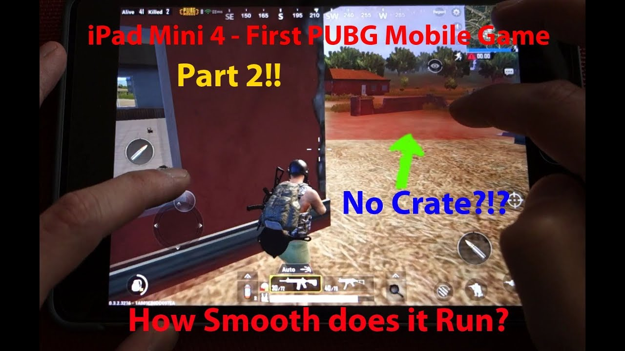 Pubg Mobile Hdr Vs Smooth: PUBG Mobile On IPad Mini 4 Gameplay