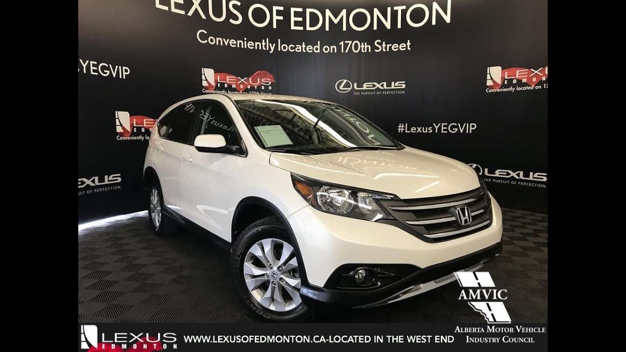 used white 2014 honda cr v ex l walkaround review drumheller alberta youtube. Black Bedroom Furniture Sets. Home Design Ideas