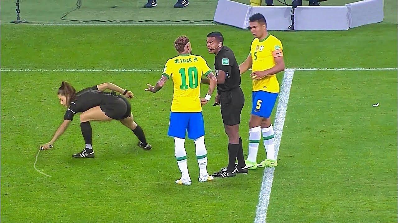 5 Momentos Mais Abusivos de Neymar pela Seleção Brasileira.