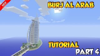 Minecraft Burj Al Arab Tutorial Part 4 - PS4/XBOX/PC