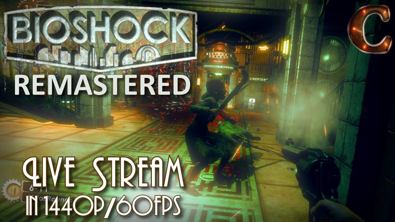 Bioshock Remastered, in 1440p / 60fps! Part 1: Crashing into Ocean and  Discovering Rapture