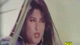 Bangla movie song: Salman Shah:Ekhane dujone nirojone.