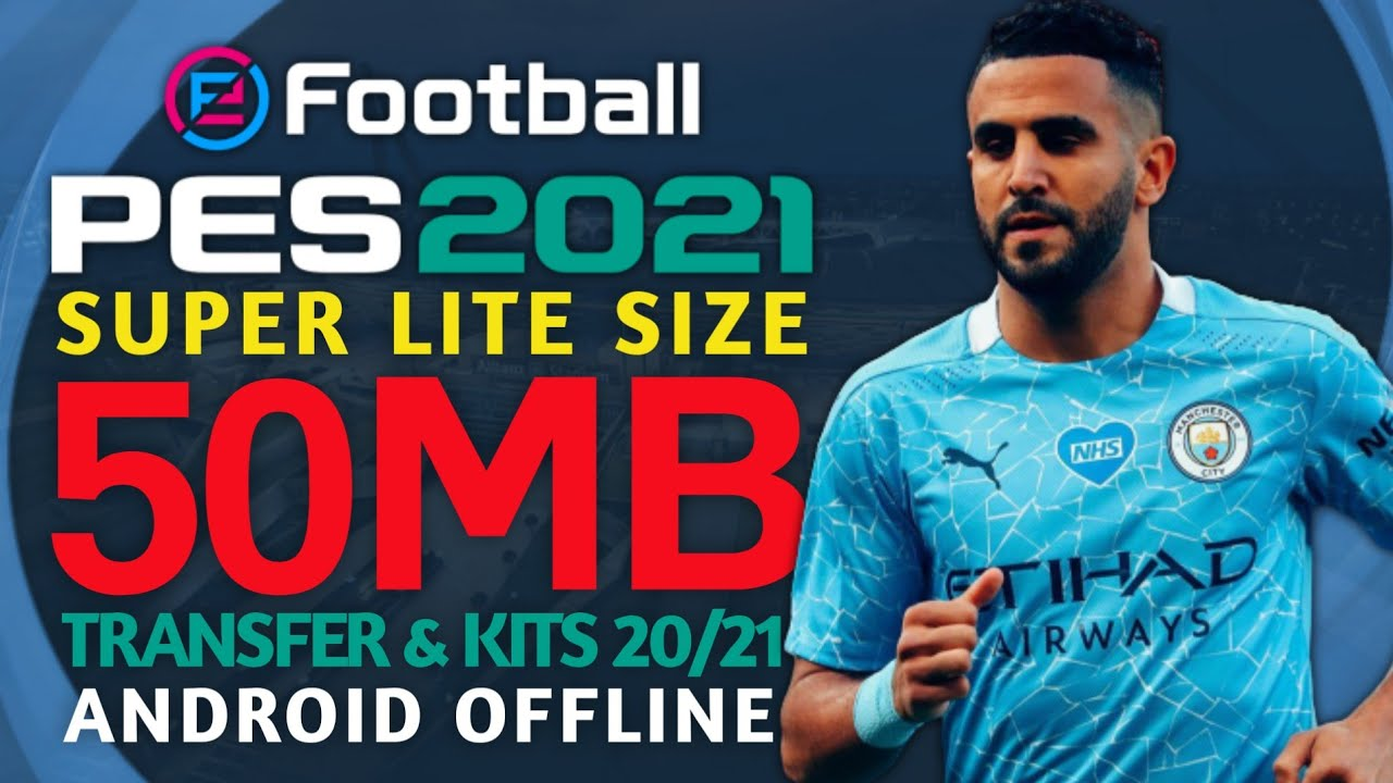 PES 2011 New Season 2021 | Size Kecil 50MB | Full Transfers & Kits 20/21 | Android Offline