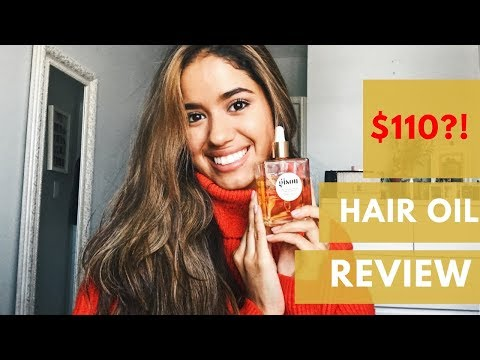Negin Mirsalehi | Gisou Honey Infused Hair Oil Review