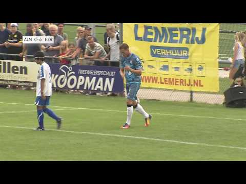 Almelose selectie - Heracles Almelo 1-17 | 08-07-2017 | Samenvatting
