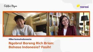 Download lagu Ngobrol Bareng Rich Brian: Bahasa Indonesia? Fasih! | Catatan Najwa