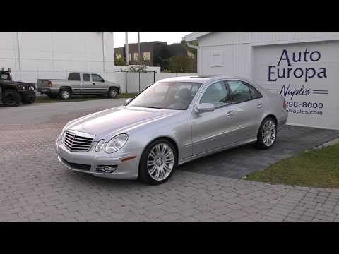 2008 Mercedes-Benz E 350 with 48K Miles - W211 Sedan - Full Review and Test Drive by Bill