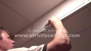 How To Repair Drop Ceiling Tiles