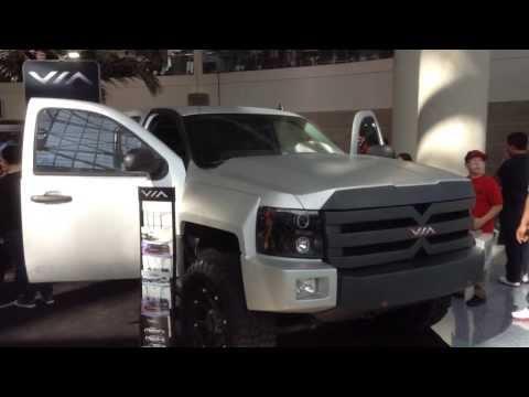 Solar Electric Hybrid Pickup Truck