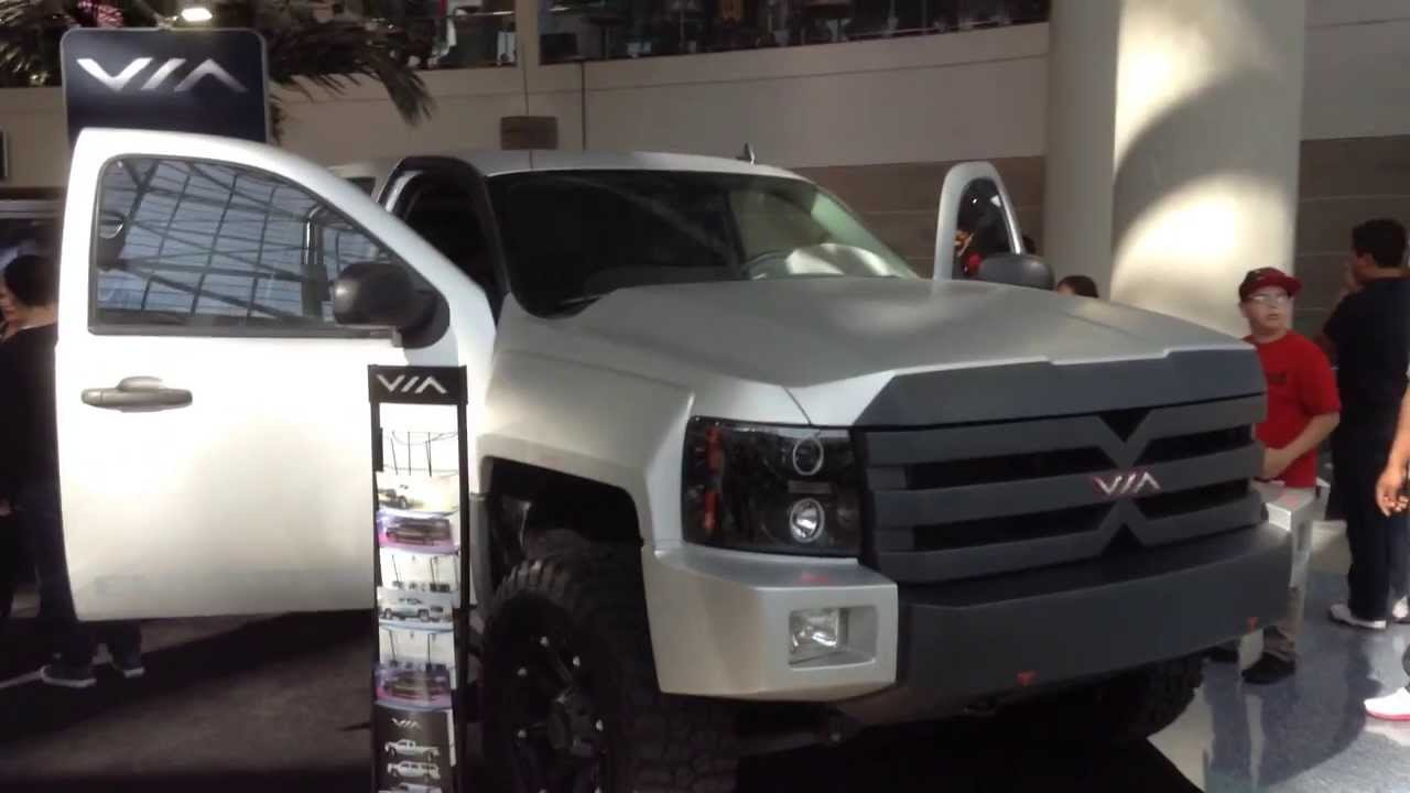 Hybrid Pickup Trucks >> Solar Electric Hybrid Pickup Truck Youtube