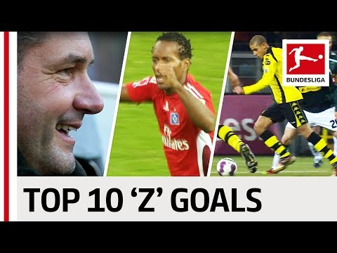 "Zé Roberto, Zidan, Zorc - Top 10 Goals - Players With ""Z"""