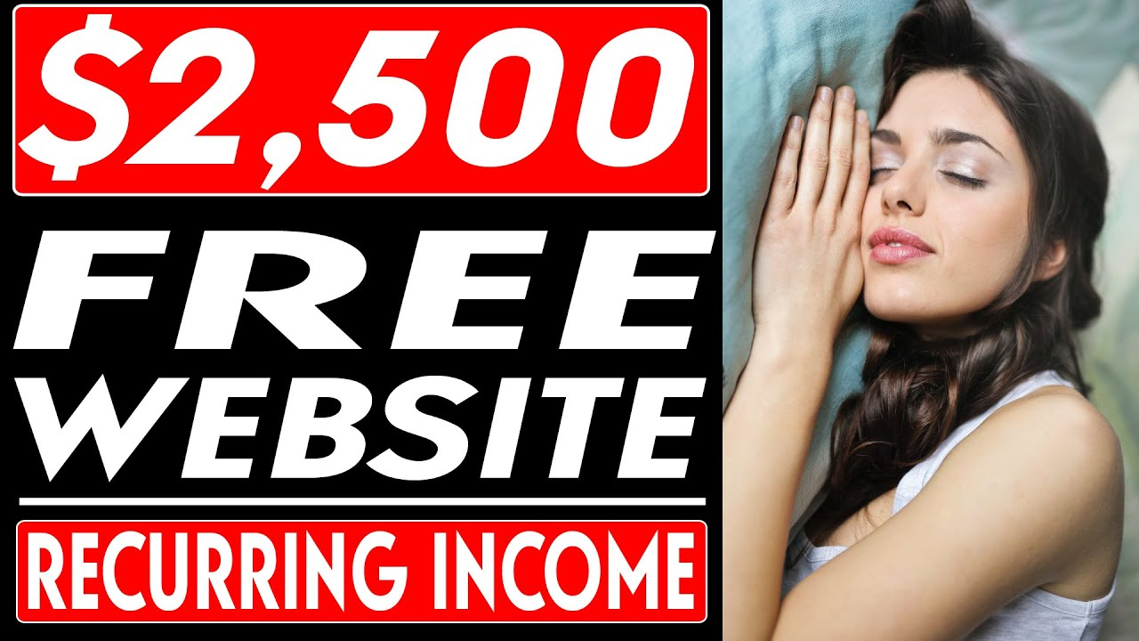 Earn $2,500 With This FREE Website (Passive Income   Make Money Online)