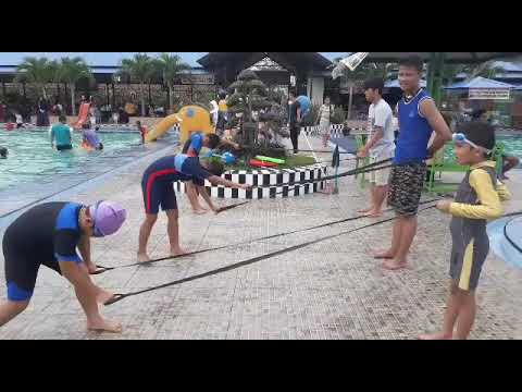 Para Coach Sailfish Swimming Club Medan.