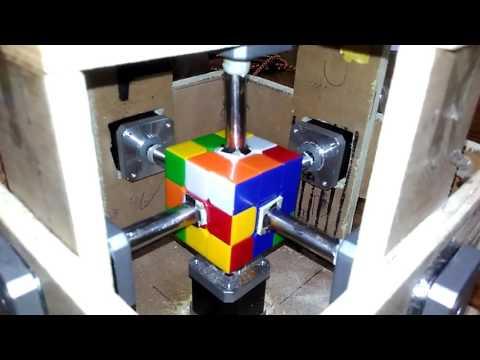 IIT Bombay: Rubik's Cube Solver (ITSP 2k16)