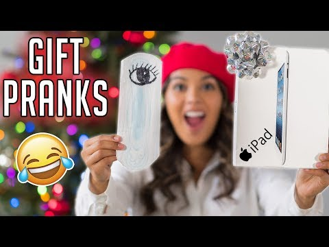 10 GIFT PRANKS! Funny Ways To Prank Your Friends & Family! Natalies Outlet