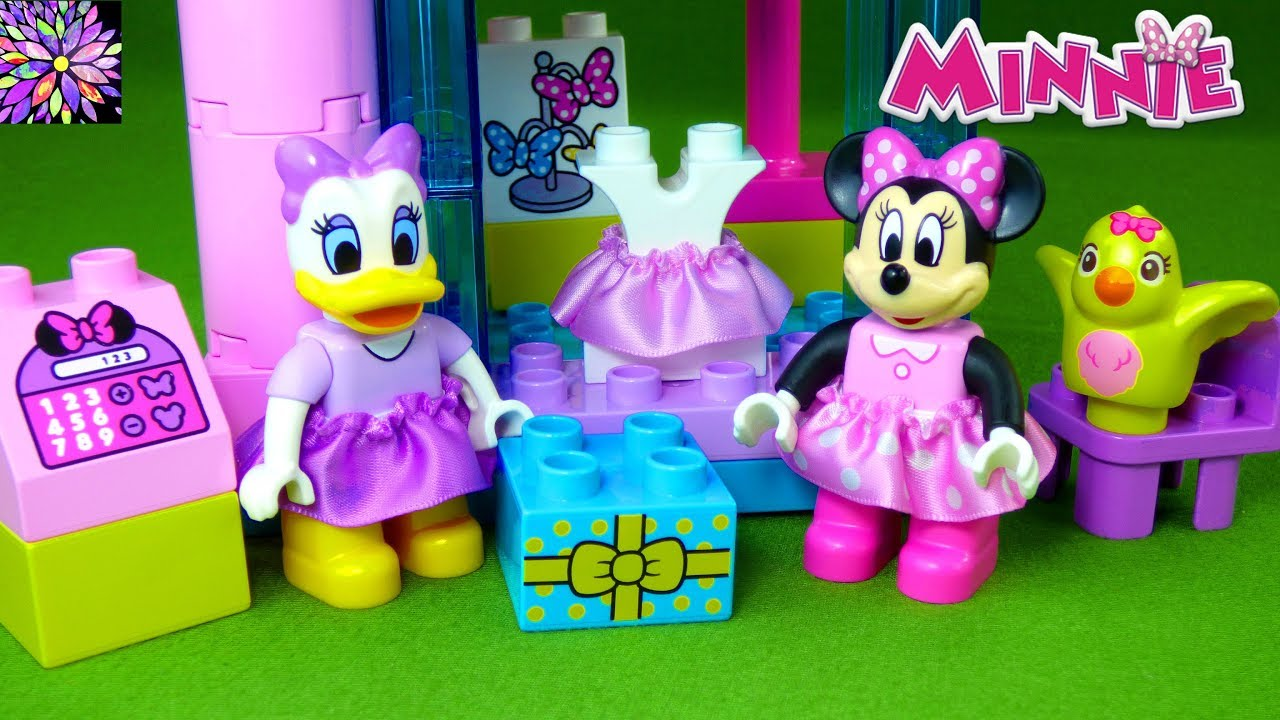 Lego Duplo Minnie Mouse Toys Minnies Bowtique Daisy Duck Mickey And