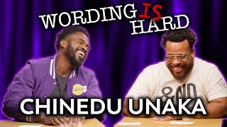 Chinedu Unaka VS Tahir Moore - WORDING IS HARD