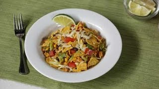 Easy, Healthy Vegetarian Taco Salad Recipe