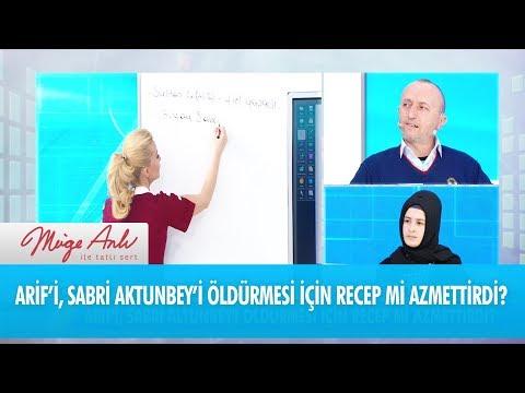 Arif'i, Sabri Aktunbey'i öldürmesi için Recep mi azmettirdi - Müge Anlı İle Tatlı Sert 21 Şubat 2018