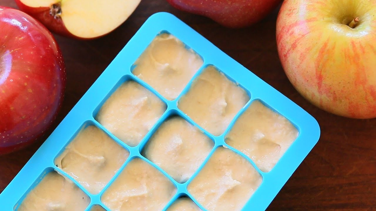 Chicken apple baby food recipe 7m youtube forumfinder Images