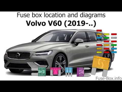 [EQHS_1162]  Fuse box location and diagrams: Volvo V60 (2019-..) - YouTube | Volvo V60 Fuse Box Location |  | YouTube