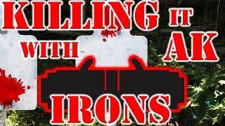 Killing It with AK Iron Sights
