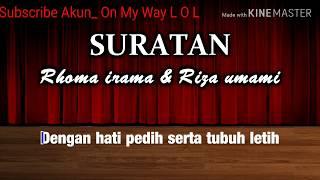 Download Lagu RHOMA Karaoke -SURATAN mp3