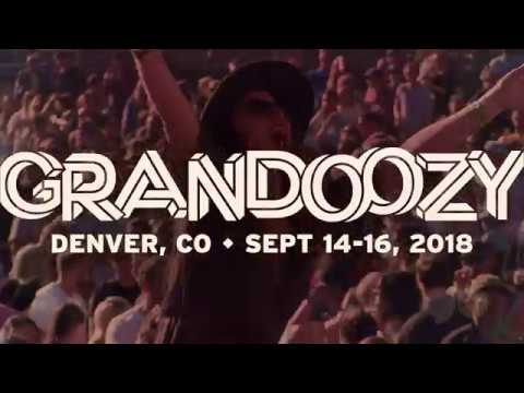 GRANDOOZY Lineup, Denver Music Festival, September 14-16, 2018