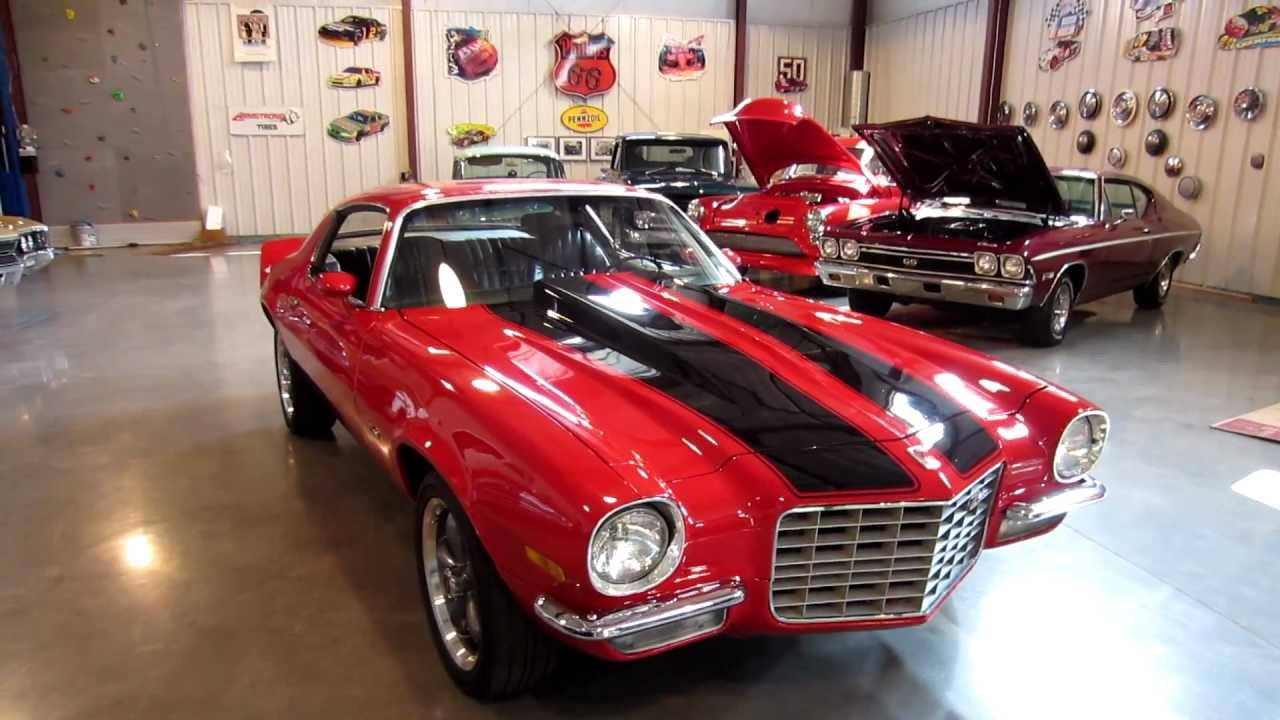sold 1972 camaro split bumper for sale passing lane motors classic cars youtube. Black Bedroom Furniture Sets. Home Design Ideas