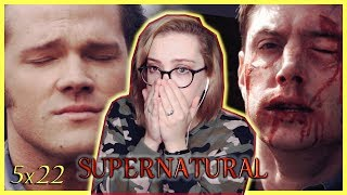 "Supernatural Season 5 Episode 22 ""Swan Song"" REACTION! (Season Finale)"