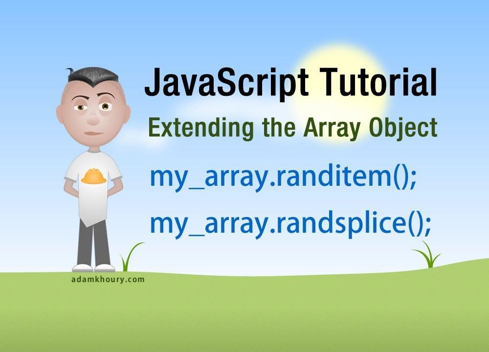 JavaScript Tutorial - Get Or Remove Random Array Elements