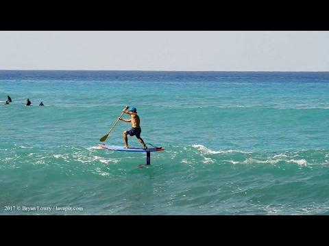 Big Island of Hawaii Starboard SUP Go Foil Surfing - Nikon D800