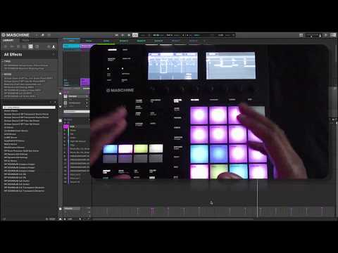 MASCHINE  2.6.9 MK3  -  ARRANGER , EVENTS , SELECTING NOTES & VARIATION