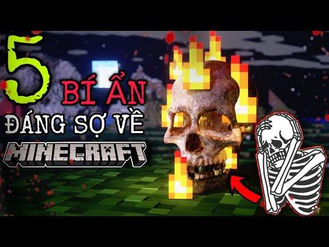Top 5 Bí Ẩn Rùng Rợn Có Thật Trong Minecraft - Phần 2
